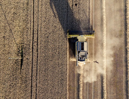 Trends in agricultural machinery. Photo by jean wimmerlin on Unsplash